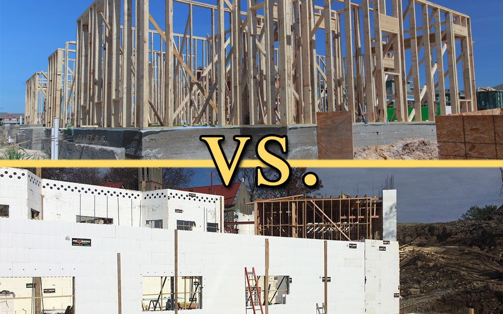 icf vs traditional framing icf builder magazine