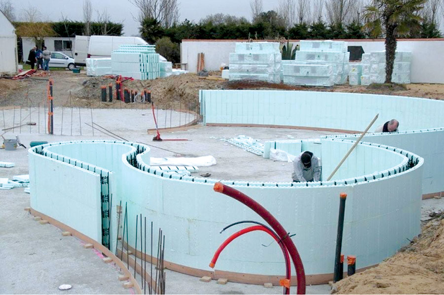 Icf swimming pools icf builder magazine for Icf pool construction