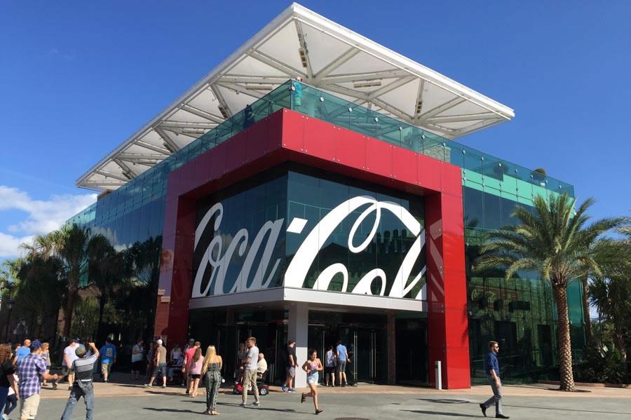 Coca-Cola Pavilion at Disney Springs