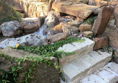 Fort Worth Residence Waterfall 24