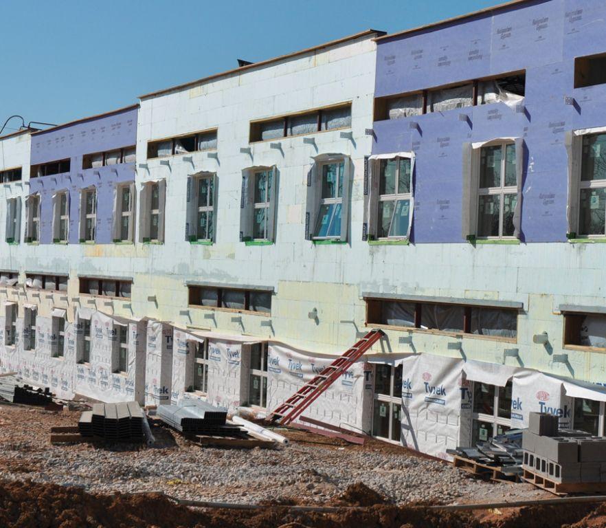 Richardsville elementary icf builder magazine for Nudura cost per square foot