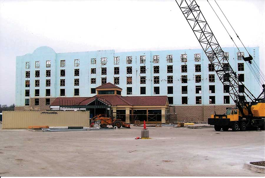 Hotel chains using icf icf builder magazine for Icf texas