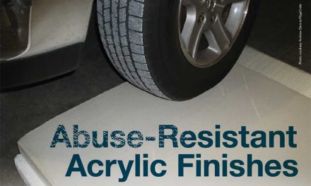 Abuse-Resistant Acrylic Finishes