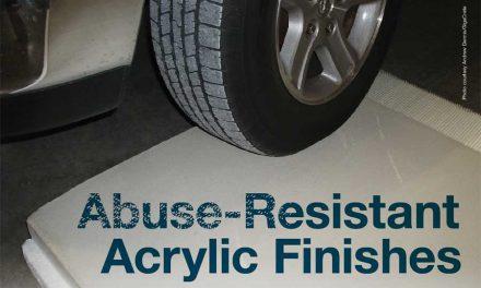 Abuse-Resistant Acrylic Finishes