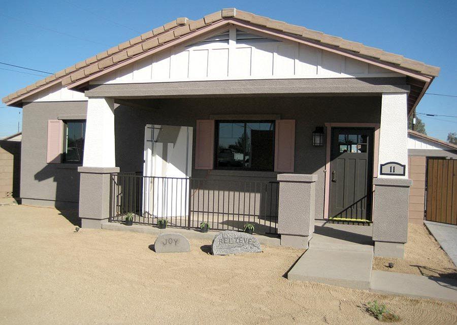 LEED-Platinum Habitat Home