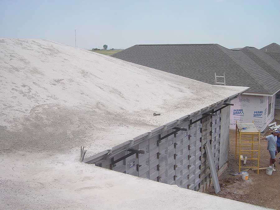 Sloped Concrete Roofs Icf Builder Magazine
