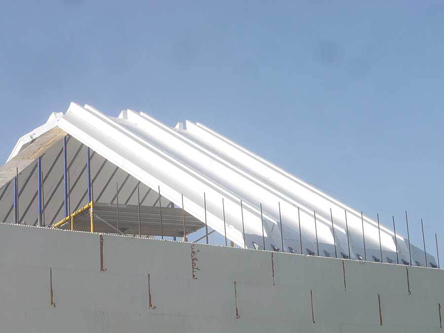Sloped Concrete Roofs - ICF Builder Magazine