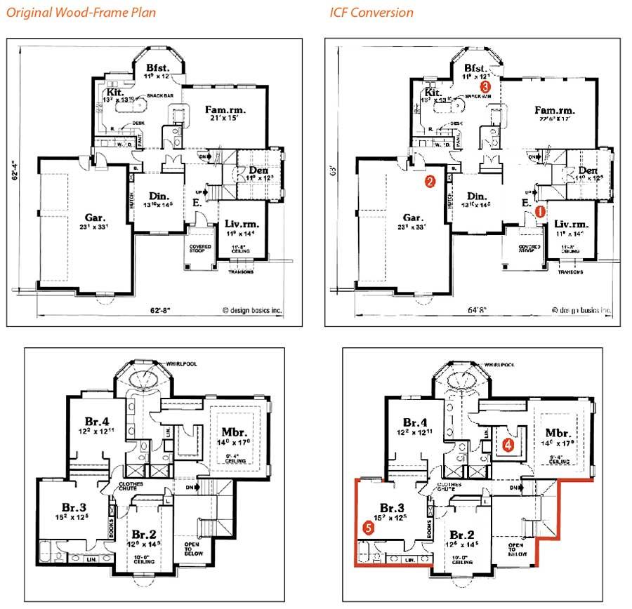 Anatomy Of An Icf Plan Conversion Icf Builder Magazine