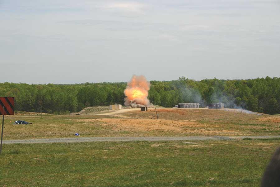 Blast-Resistant Barracks