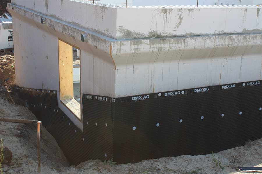 The Art and Science of Waterproofing ICF